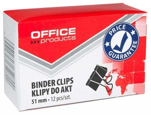 SPINACZ KLIPS OFFICE PRODUCTS 51MM 12SZT