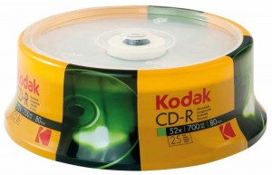 CD-R 700MB KODAK CAKE 25 3936173/1210325