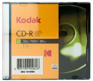 CD-R 700MB KODAK SLIM 5 3936229/1210405