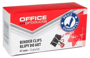 SPINACZ KLIPS OFFICE PRODUCTS 41MM 12SZT