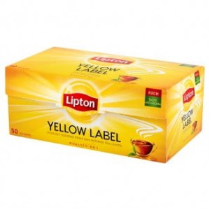 HERBATA LIPTON YELLOW LABEL A`50