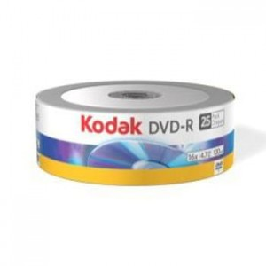 DVD-R 4,7GB KODAK 16X SPINDLE 25 3936265
